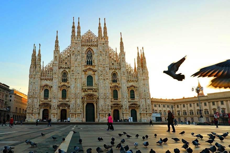 Milan in November