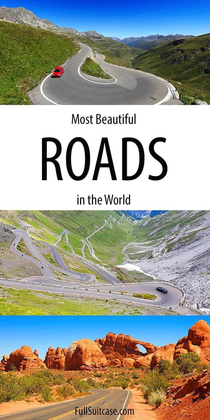 Most beautiful roads in the world
