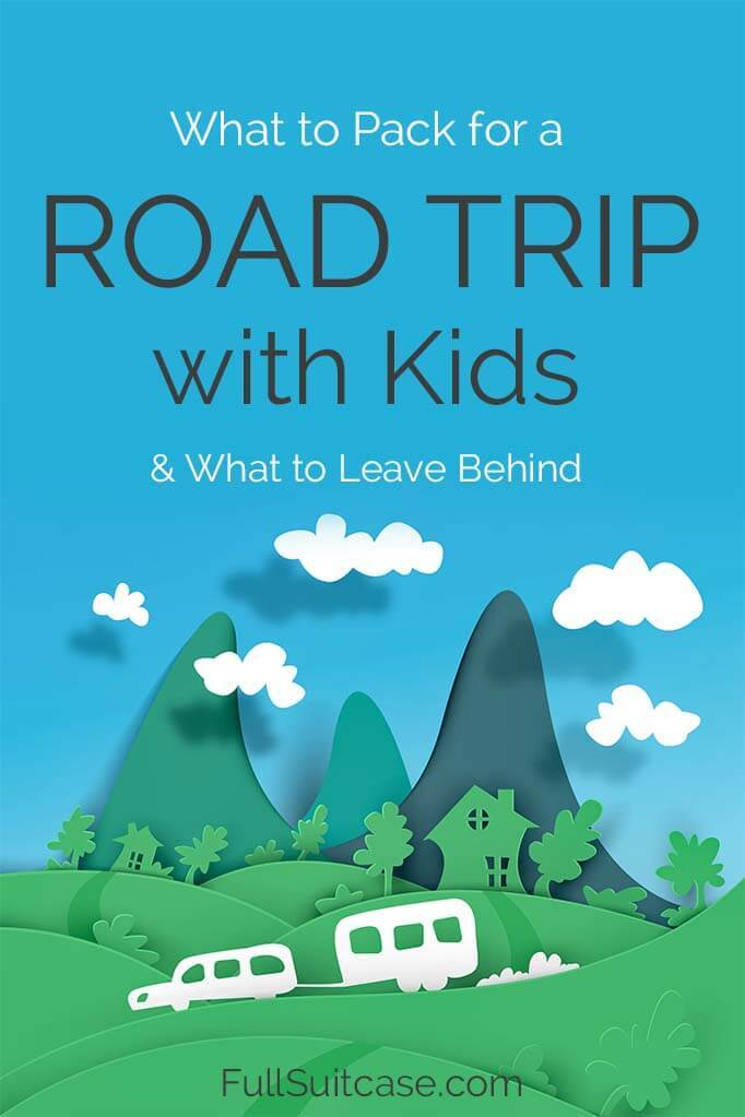 Packing essentials for a road trip with kids