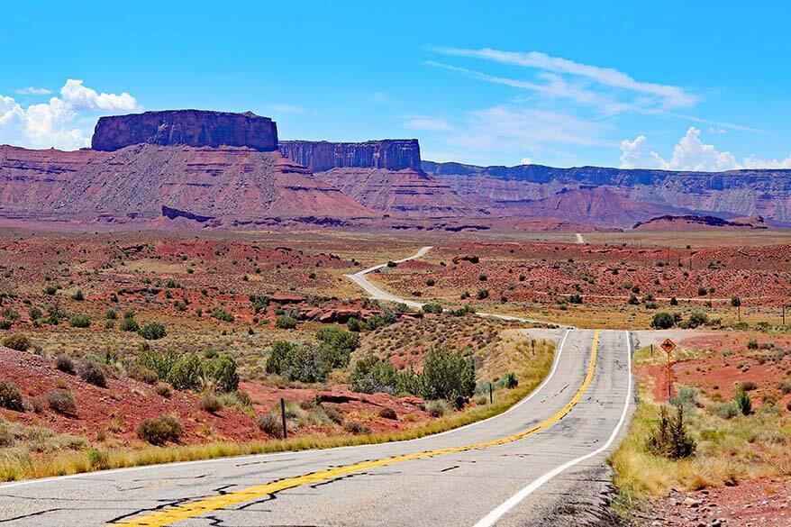 Road 128 near Moab Utah