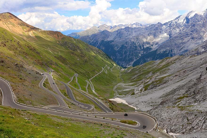 Stelvio Pass - one of the most beautiful roads in the world