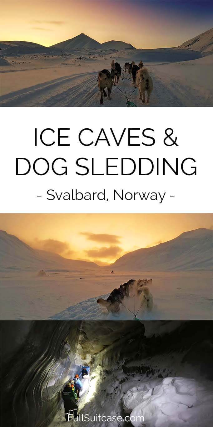 Svalbard ice caves and dog sledding tour review