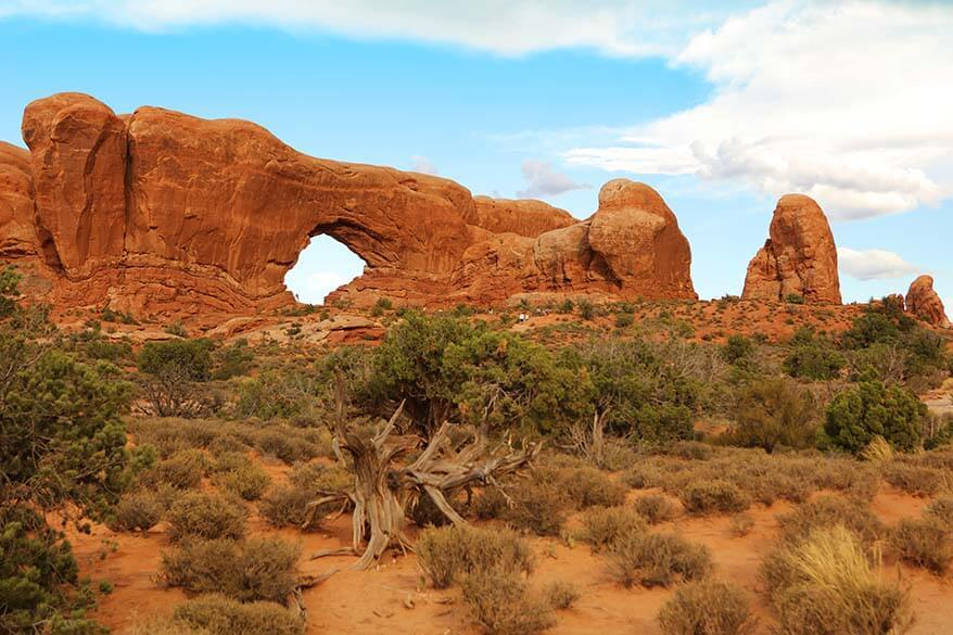 The Windows section in Arches National Park