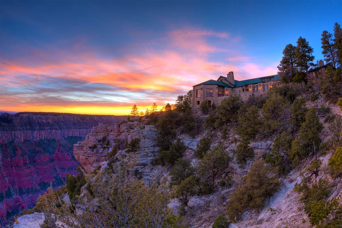 Where to stay in Grand Canyon