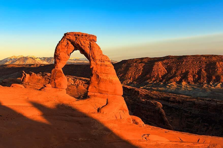 Arches National Park in March
