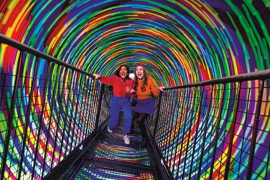 Best tourist attractions in Edinburgh - Camera Obscura and World of Illusions