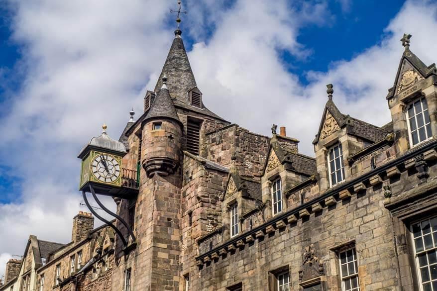 Best tourist attractions in Edinburgh Scotland