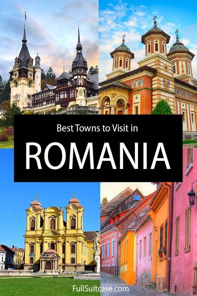 Best towns to visit in Romania