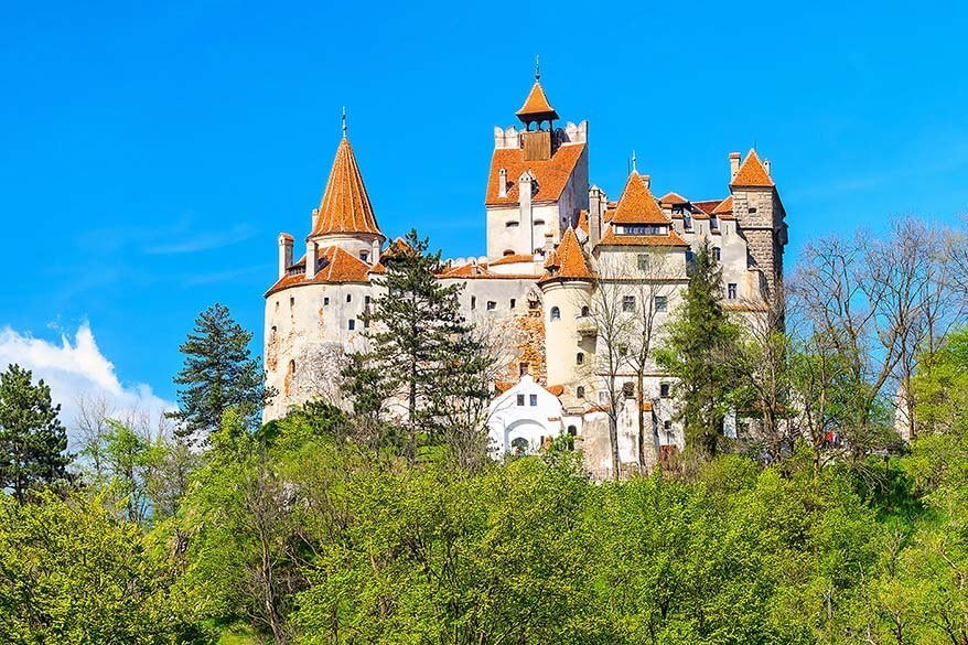 Bran Castle (Dracula Castle) in Romania