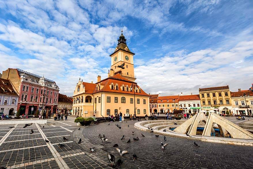 Brasov is one of the best cities to visit in Romania