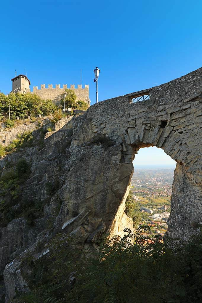 Bridge over Witches Path in San Marino