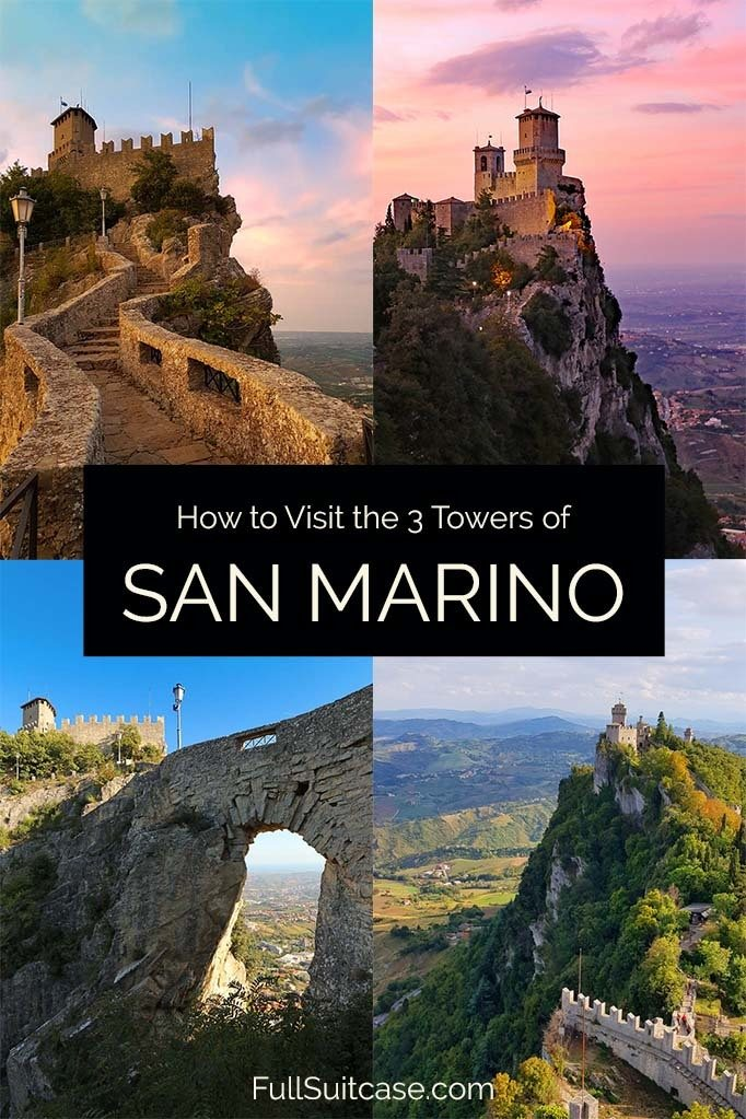 Complete guide to the Three Towers of San Marino