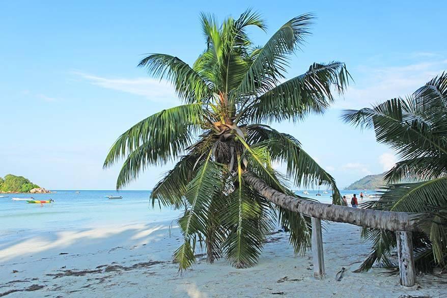 Cote D'Or Beach in Praslin