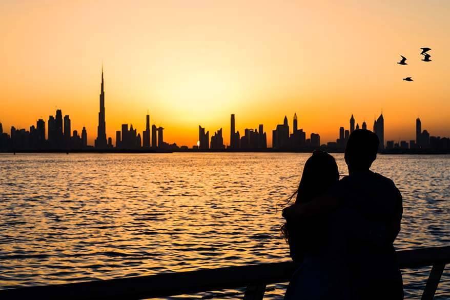 Dubai facts - kissing in public is forbidden