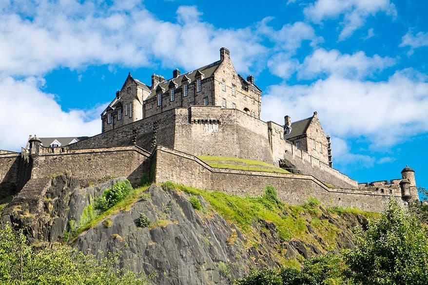 Edinburgh Castle - best things to do in Edinburgh
