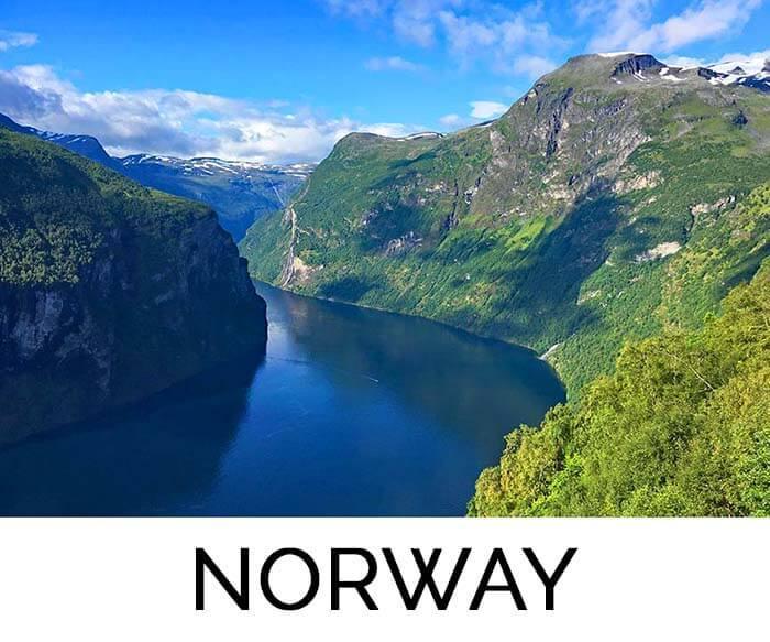 Favorite destination Norway