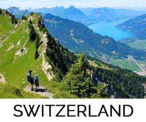 Favorite destination Switzerland