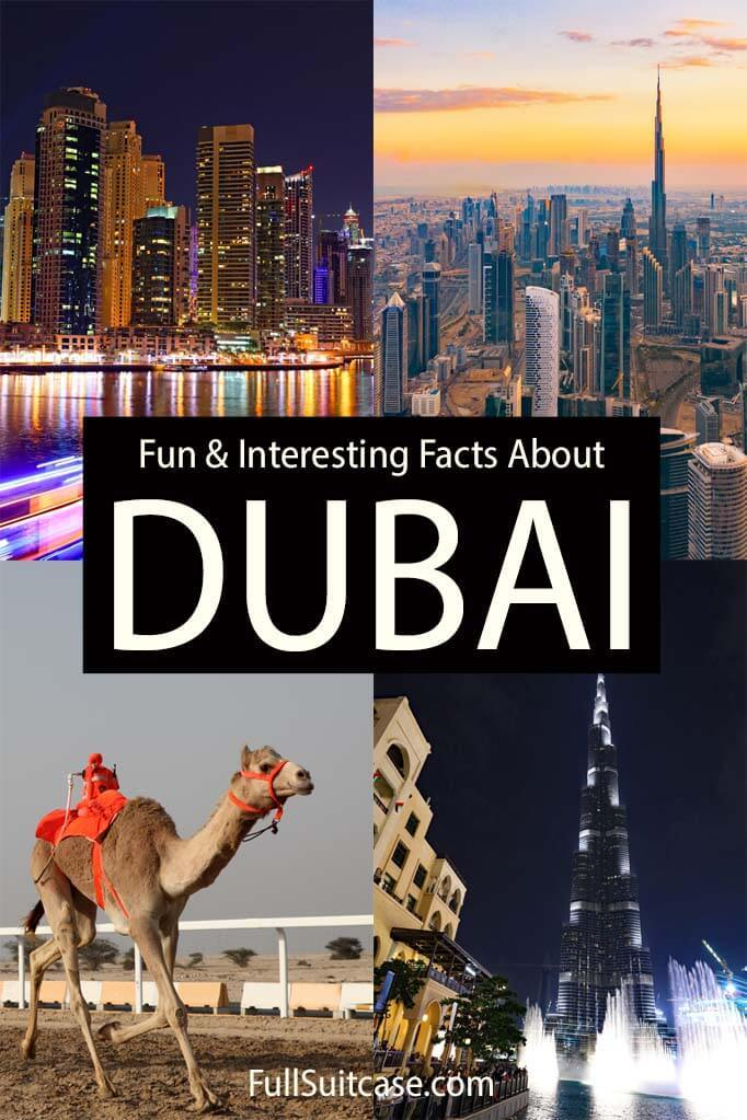 Fun and interesting facts about Dubai