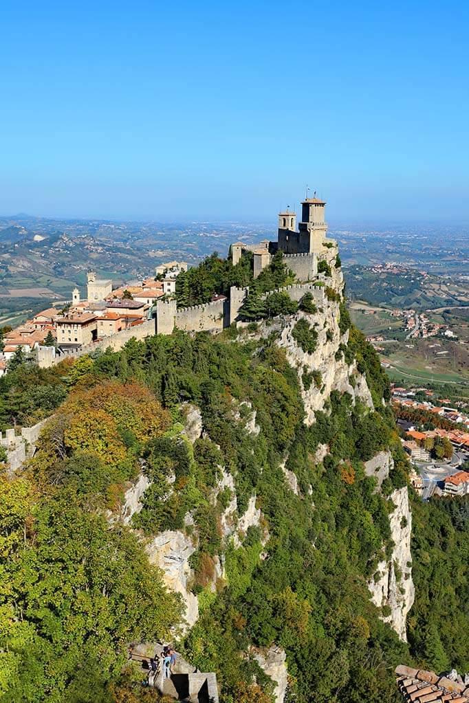 Guaita Tower (La Rocca) San Marino