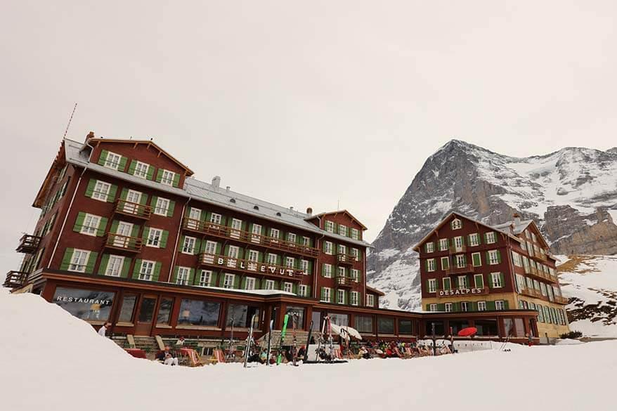 Hotel Bellevue des Alpes in Kleine Scheidegg Switzerland