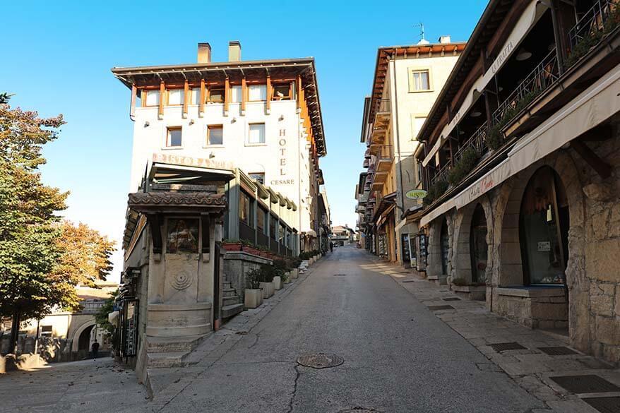Hotel Cesare in San Marino
