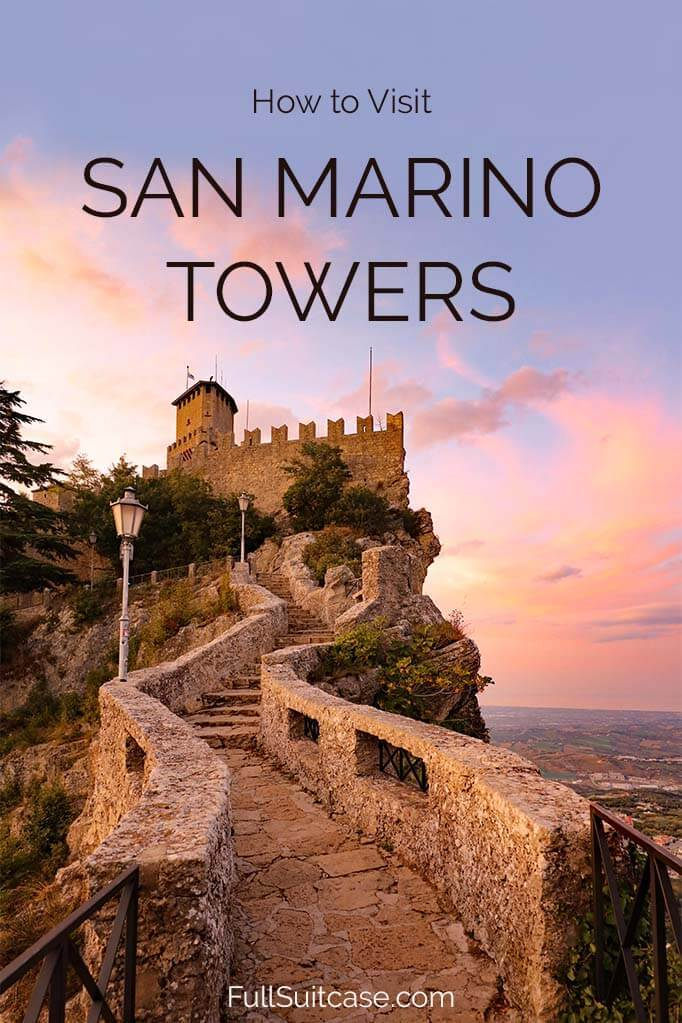 How to visit the Three Towers of San Marino