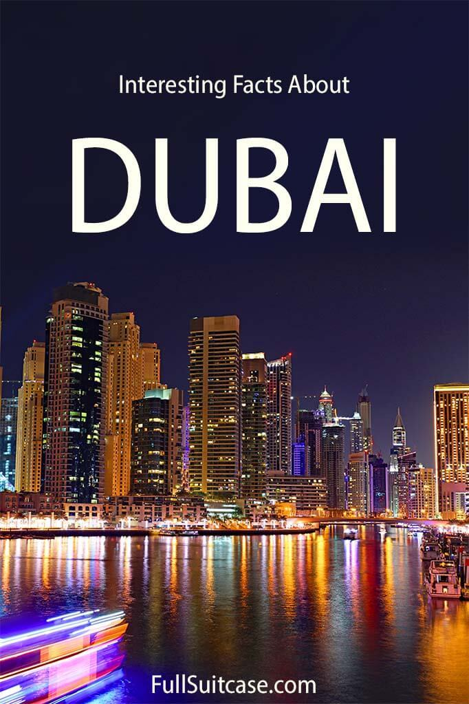 Interesting facts about Dubai - things you should know before the trip