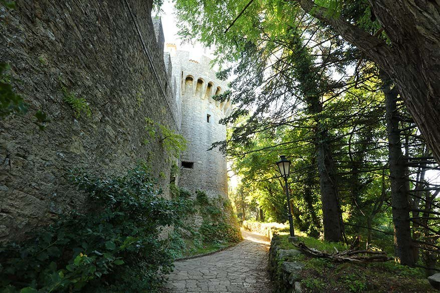 Medieval city of San Marino