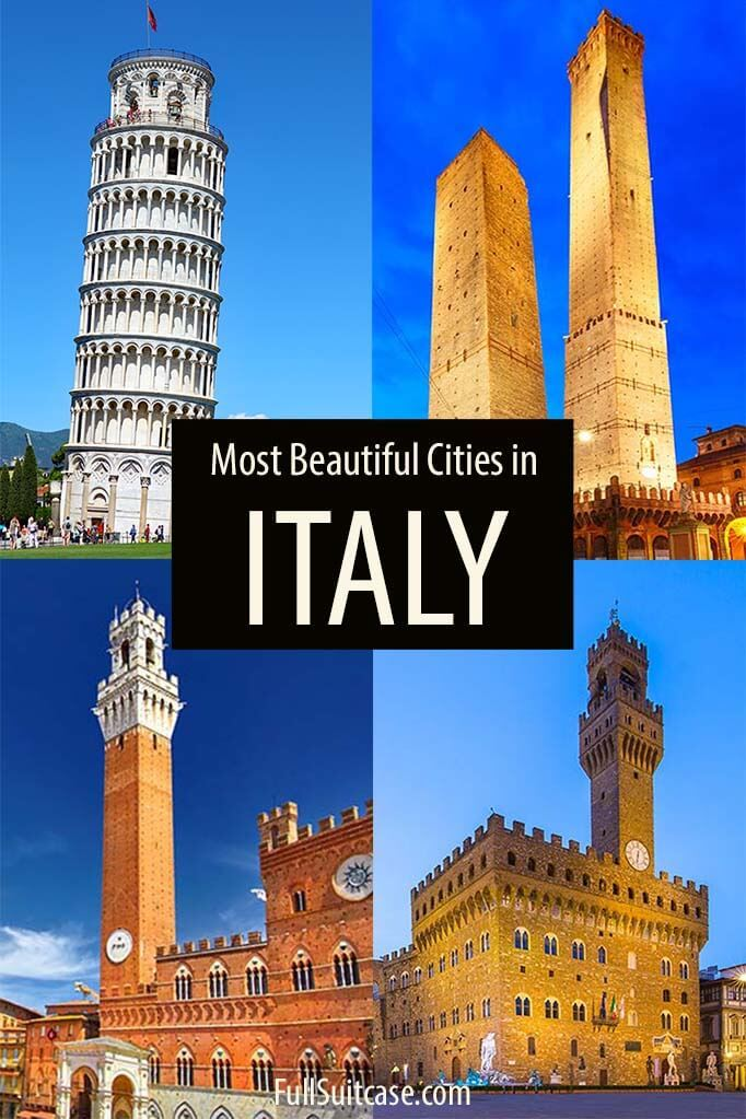 Most beautiful cities of Italy