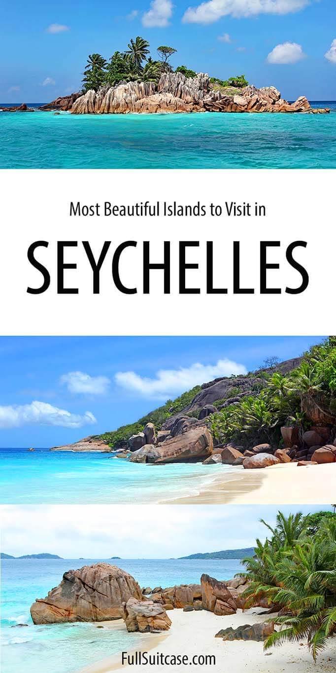 Most beautiful islands in Seychelles