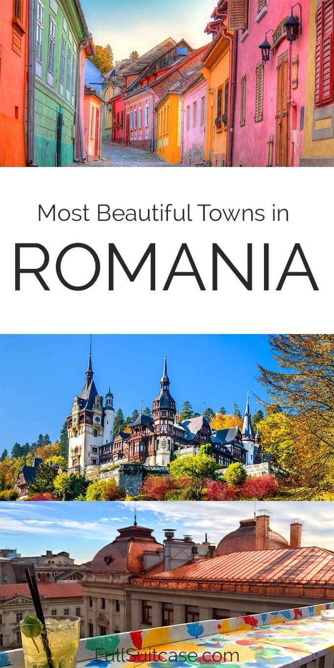Most beautiful towns in Romania