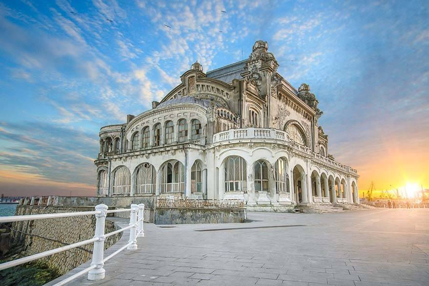 Old casino in Constanta Romania