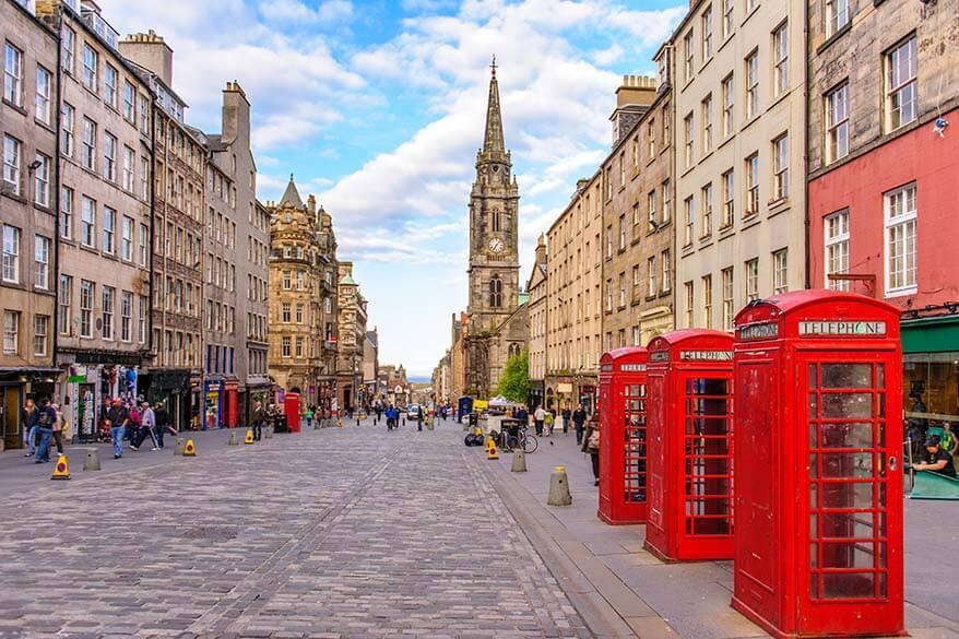 Royal Mile - best things to do in Edinburgh