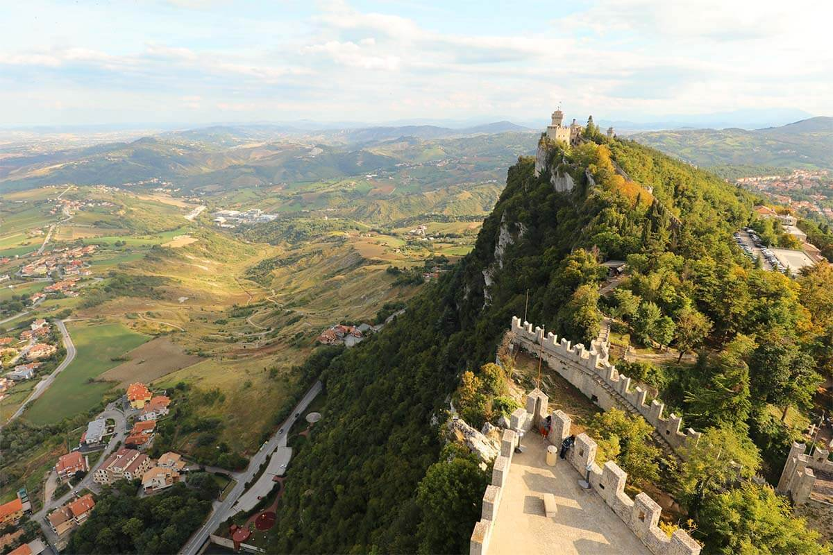 Three Towers of San Marino (aka San Marino Castle) & Tips for Your Visit