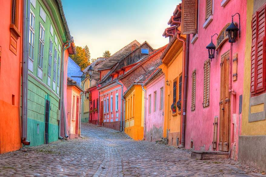 Sighisoara - the most colorful town in Romania