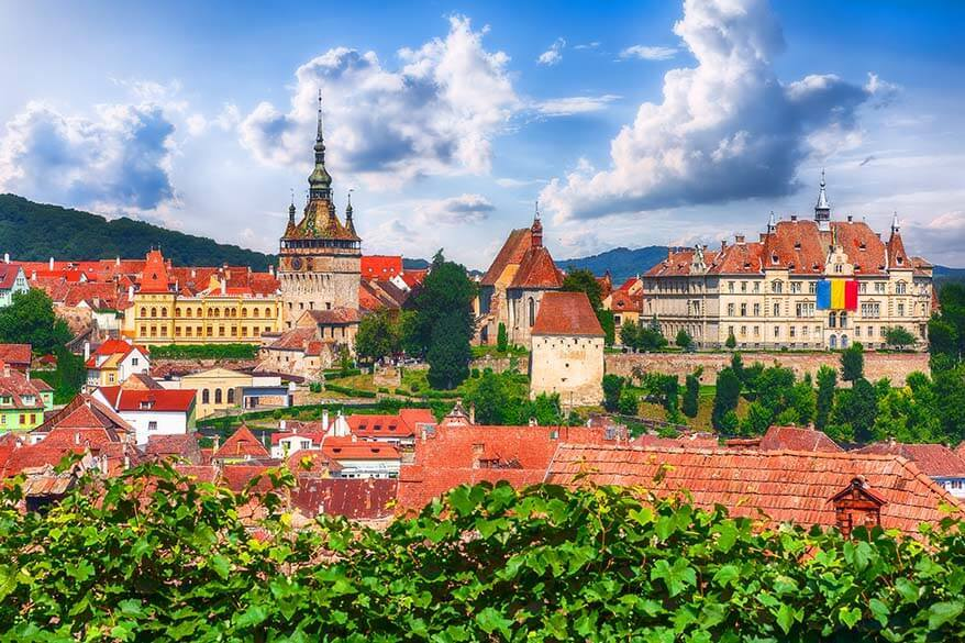 Sighisoara town in Romania