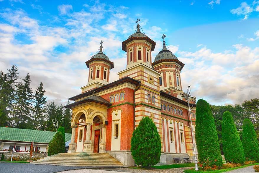 Sinaia Monastery Romania