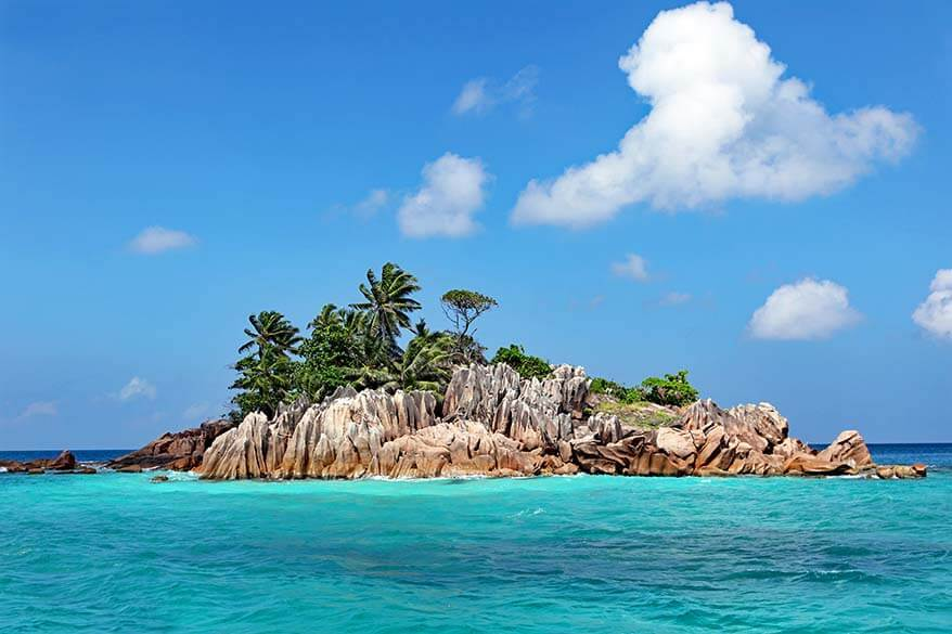 St Pierre is one of the most beautiful islands in Seychelles