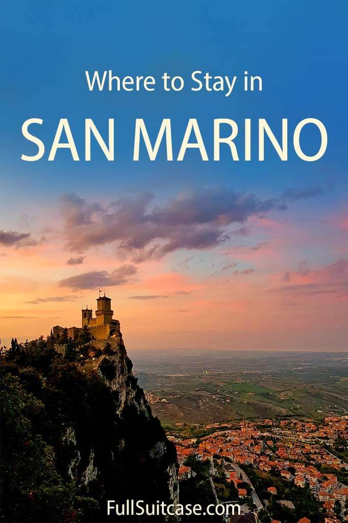 Where to stay in San Marino