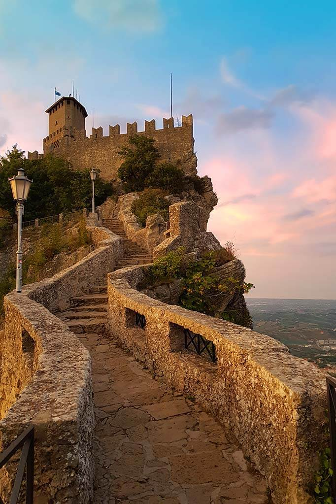 Witches Path (Passo delle Streghe) in San Marino