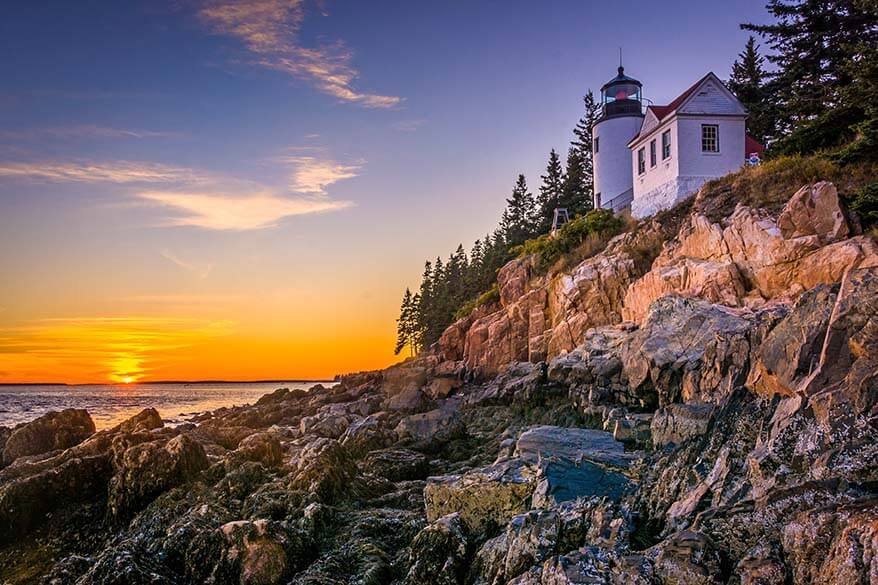 Acadia National Park is one of top 10 national parks in America
