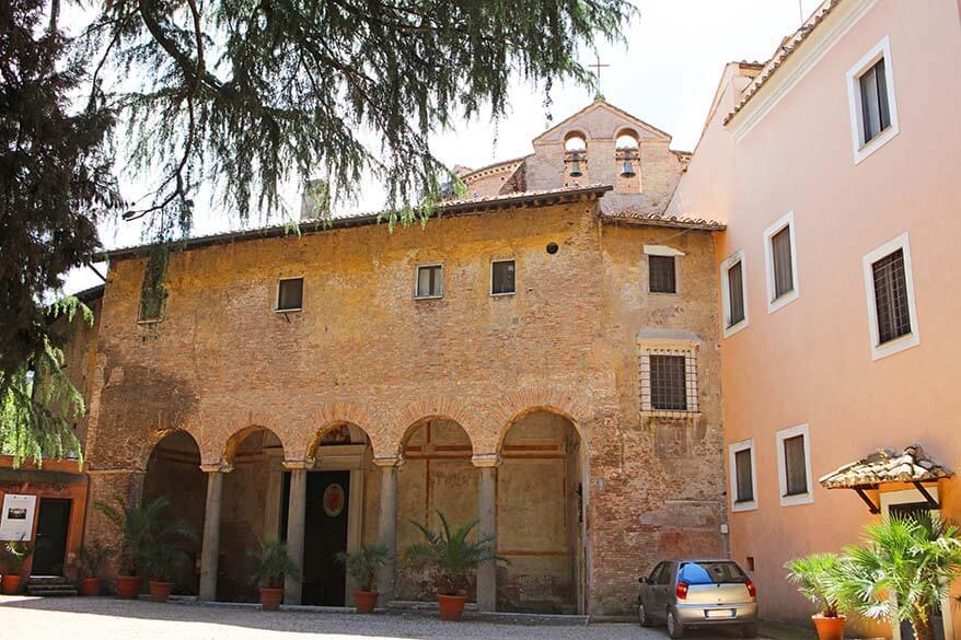 Basilica di Santo Stefano Rotondo al Celio in Rome Italy