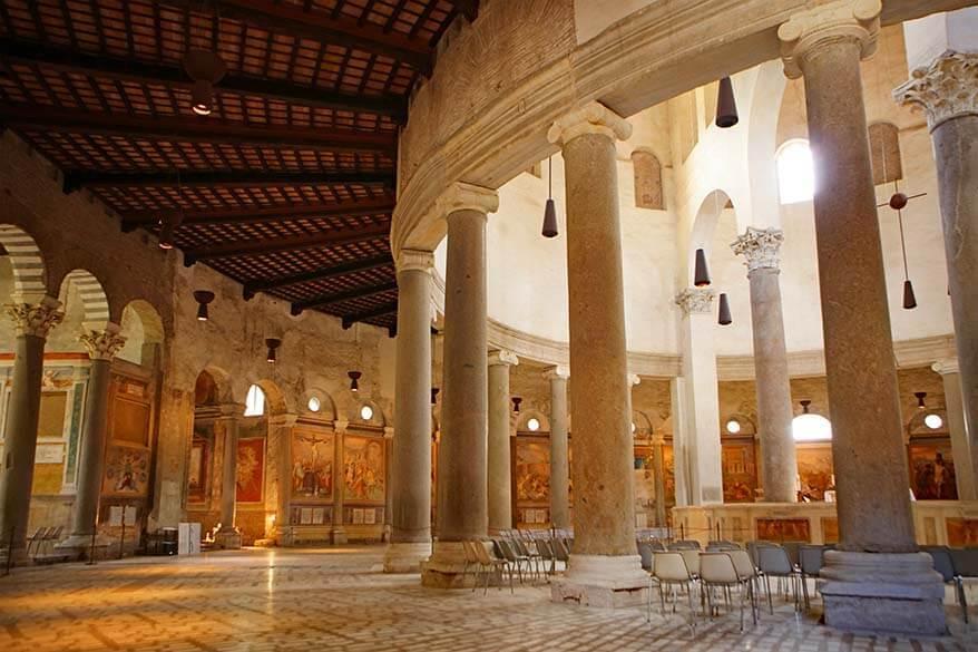 Basilica of Santo Stefano Rotondo - secret places in Rome