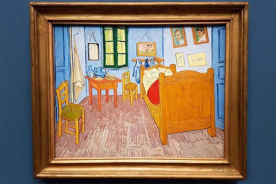 Bedroom in Arles painting by Vincent Van Gogh