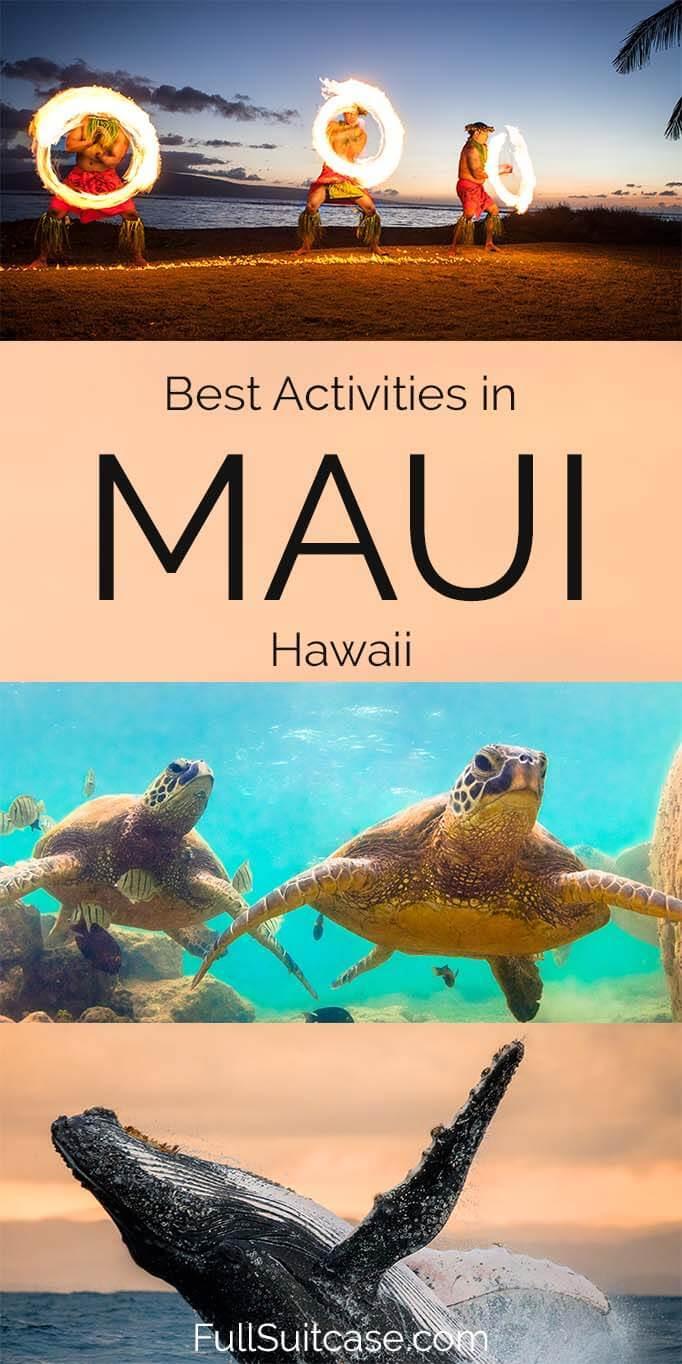 Best activities in Maui