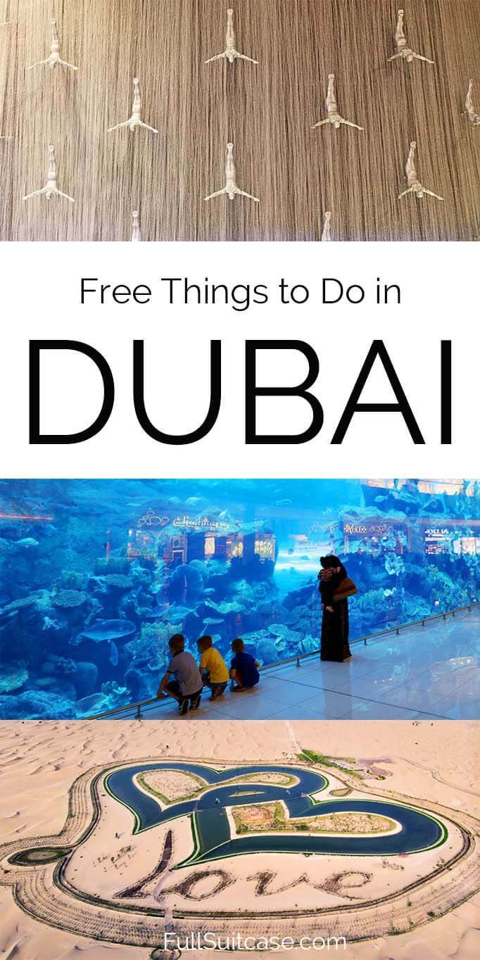 Best free things to do in Dubai UAE