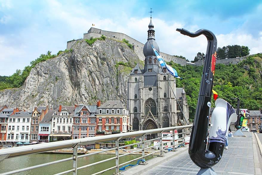 Best places to visit near Luxembourg - Dinant Belgium