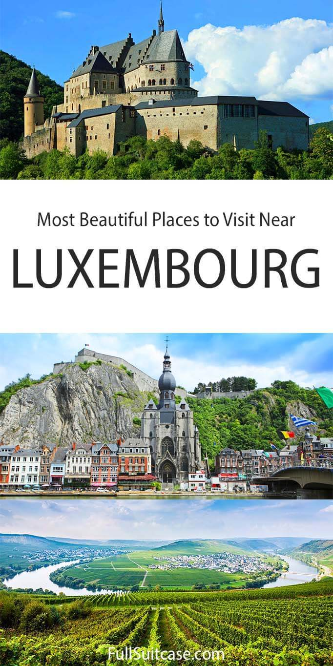 Best places to visit near Luxembourg
