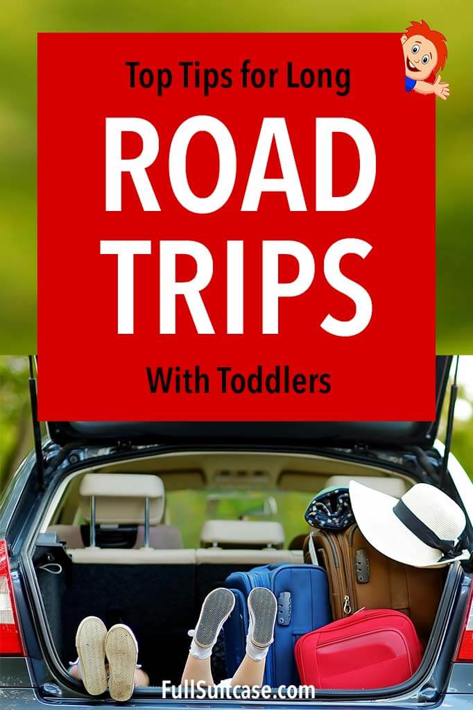 Best tips for traveling with toddlers in a car