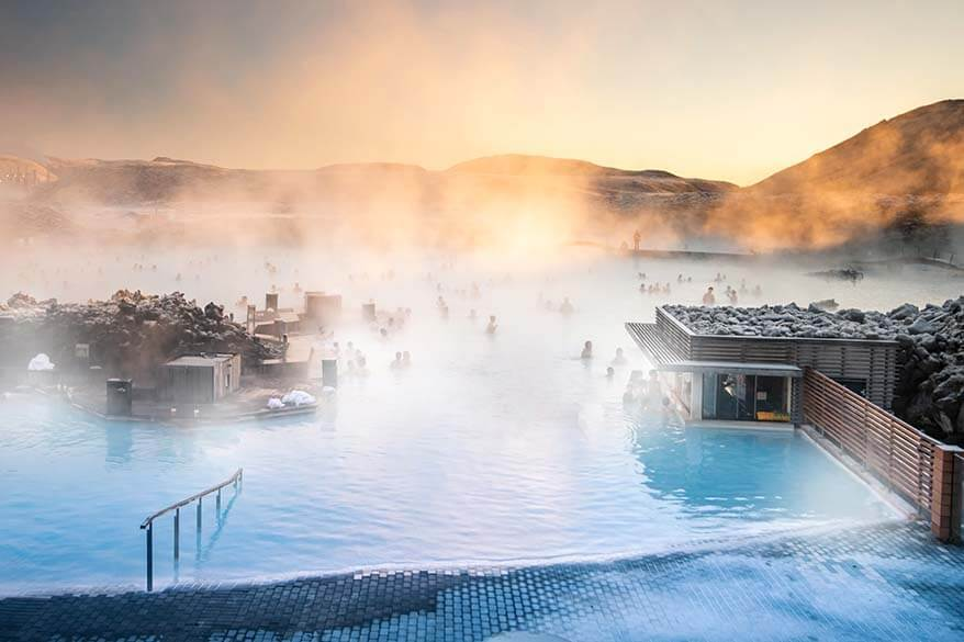 Blue Lagoon spa - the most popular excursion in Iceland